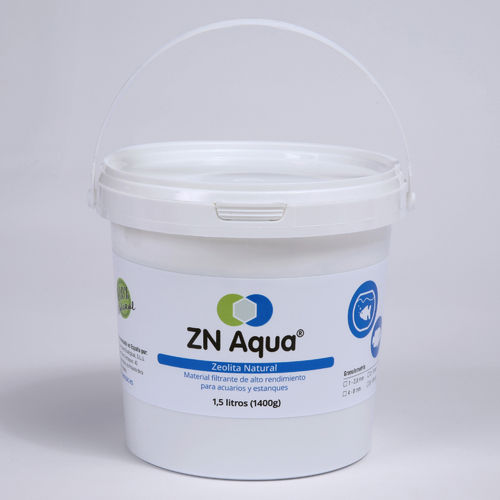 Zeolita Natural ZN AQUA de 2-5mm - cubo de 1,5 litros