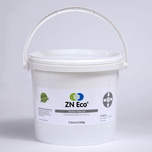 Zeolita Natural ZN ECO de 2-5mm - cubo de 5 litros