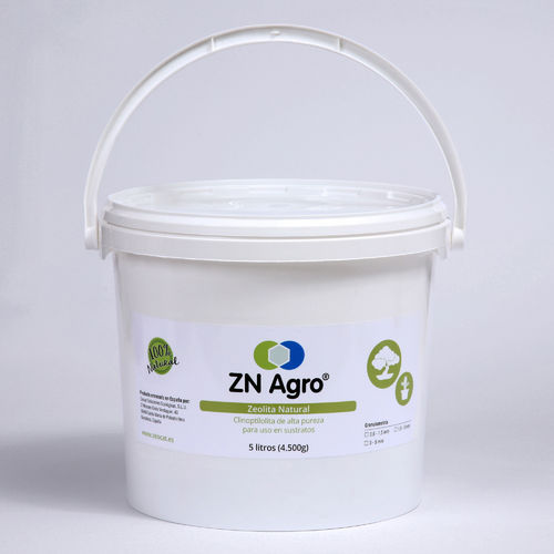 Zeolita Natural ZN AGRO de 1,5-3mm - cubo de 5 litros