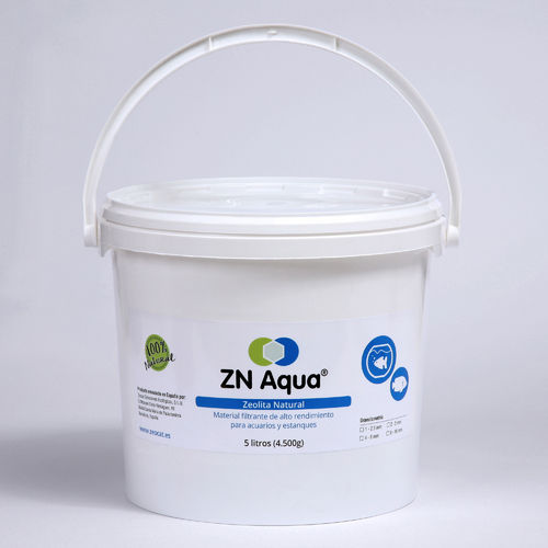 Zeolita Natural ZN AQUA de 1-2,5mm - cubo de 5 litros