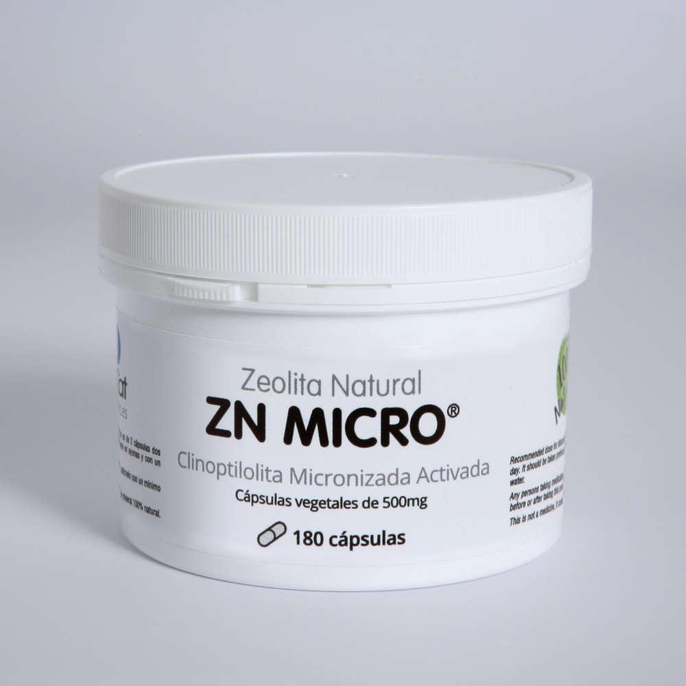 Zeolita Natural ZN MICRO - 180 x 500mg capsules